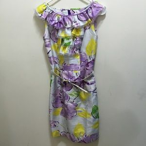 Kate spade floral dress size 2